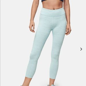 Pink Outdoor Voices Tech Sweat Leggings